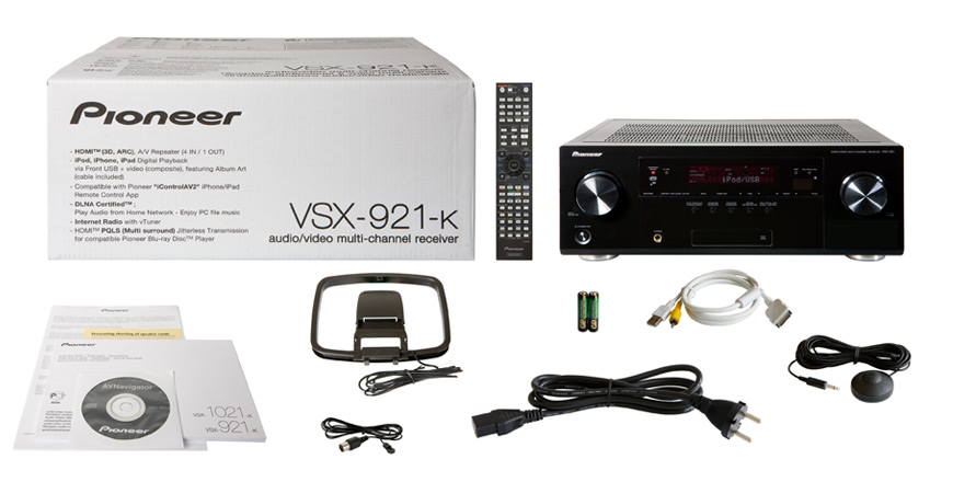 This Is An Example Of The VSX 921 K